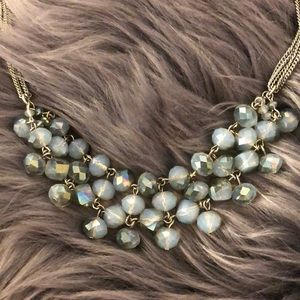 Jewelry - Blue Beaded Fashion Necklace 🌺